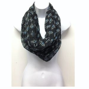 Elephant bohemian Sheer Infinity Scarf! No flaws!